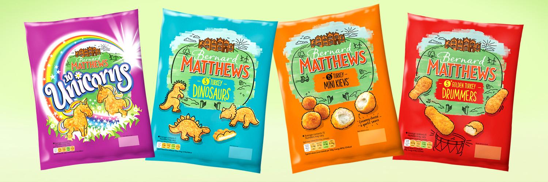 Bernard Matthews Frozen Breaded Poultry