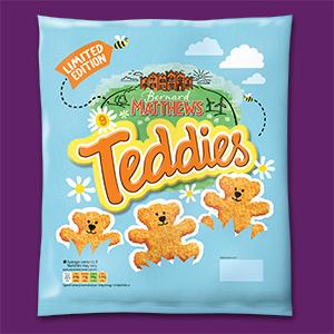 Visual of the teddies packaging.